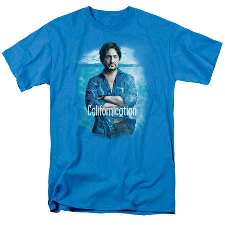 CALIFORNICATION/WAY TOO DEEP - S/S ADULT 18/1 - TURQUOISE - 2X