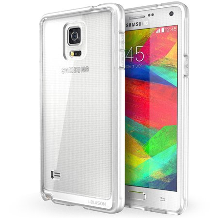 lower price with 307f2 85e4a i-Blason Halo Series Scratch-Resistant Transparent Hybrid Case with TPU  Bumper for Galaxy Note 4