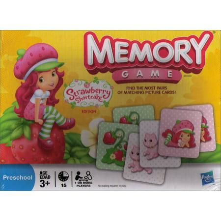 Memory Game - Strawberry Shortcake Edition