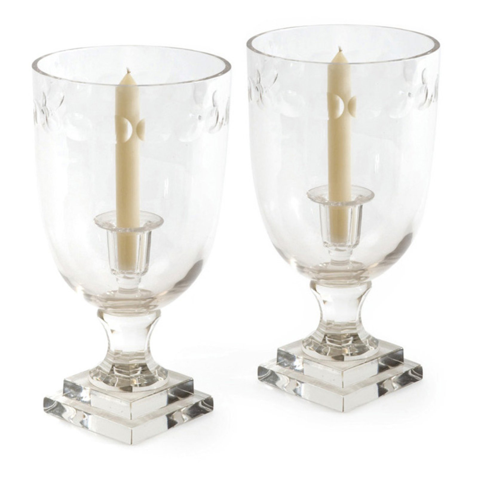 Hip Vintage Orbital Hurricane Candle Holder - Set of 2
