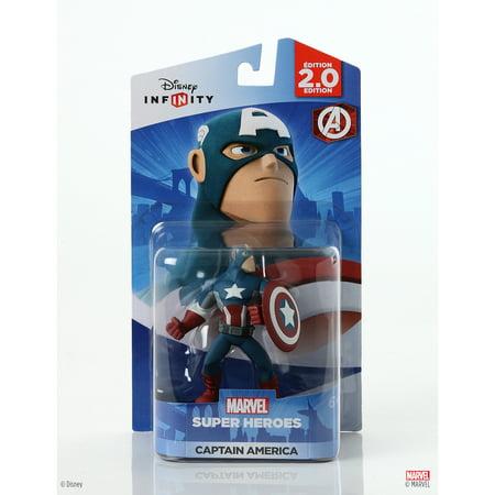 Superhero Figures (Disney Infinity: Marvel Super Heroes (2.0 Edition) Captain America Figure)