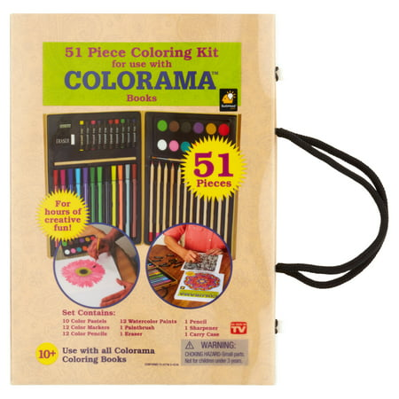 Colorama Books Coloring Kit 51 Count