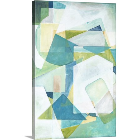 Great BIG Canvas | Megan Meagher Premium Thick-Wrap Canvas entitled Overlay Abstract (Canvas Overlay)