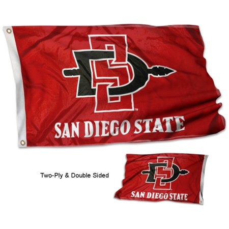 San Diego State Aztecs Double Two Sided Flag