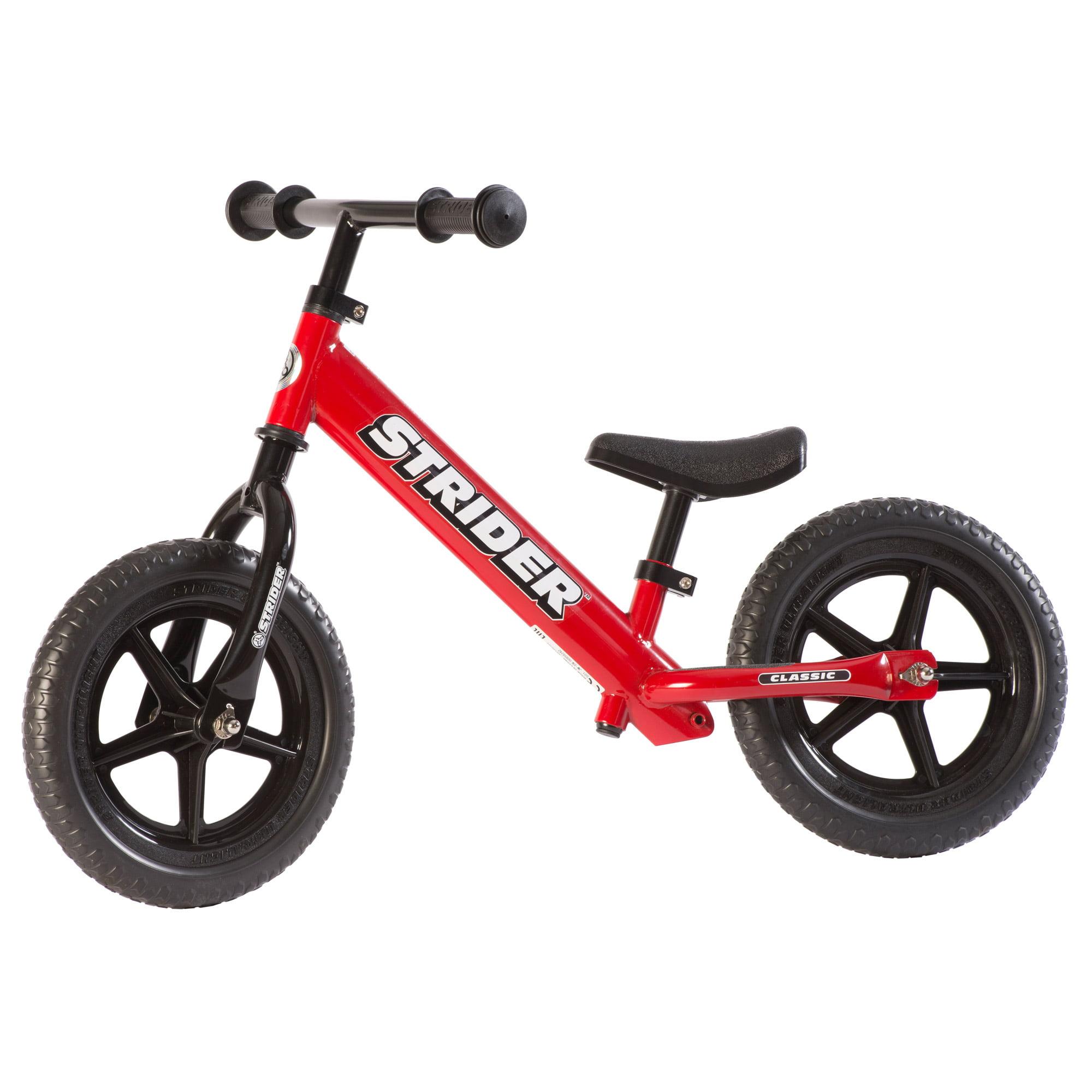 STRIDER 12 Classic Balance Bike, Red by Strider