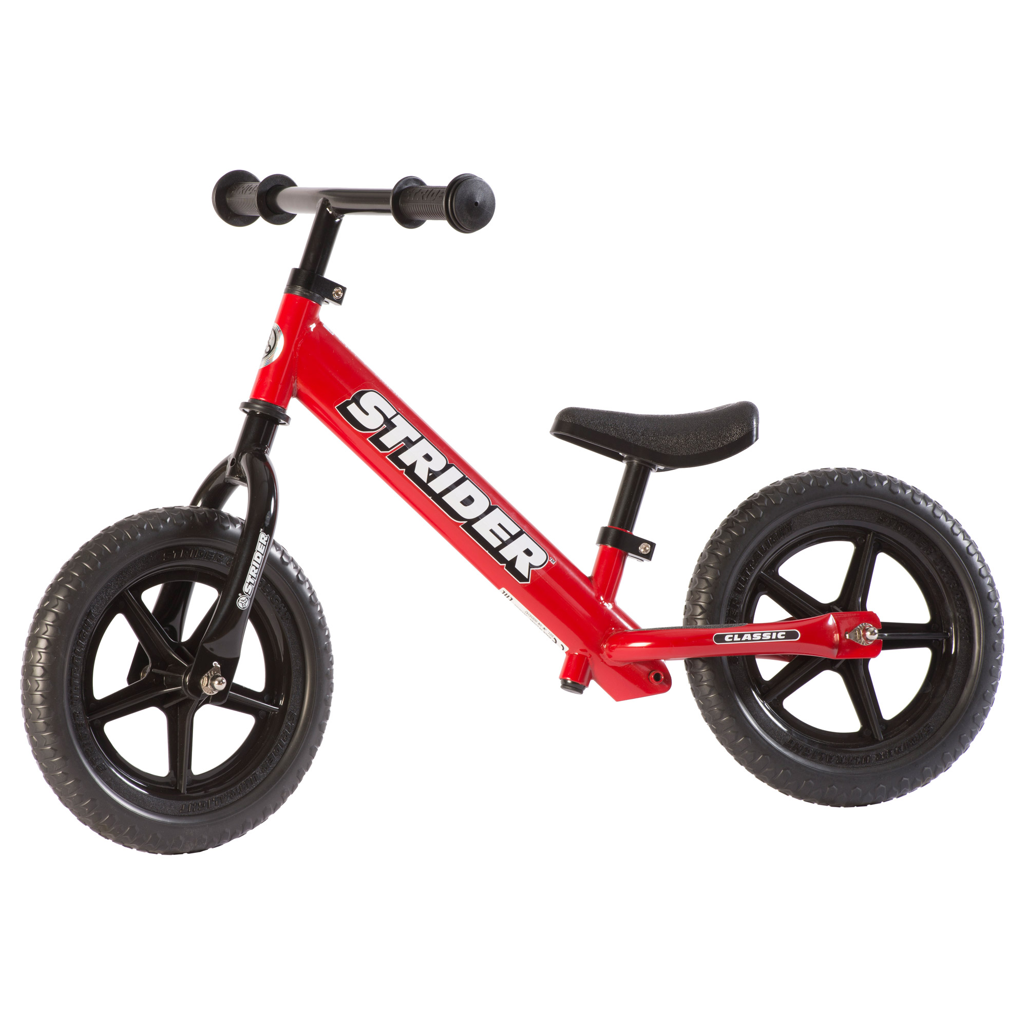 STRIDER 12 Classic Balance Bike, Red