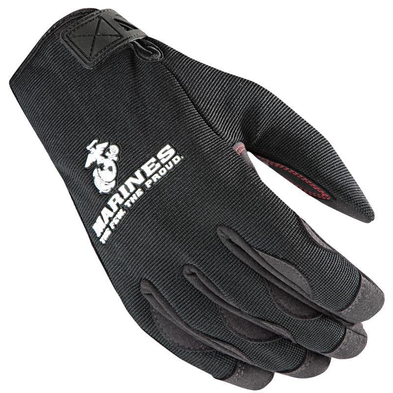 Power Trip Marines Halo Gloves  Black