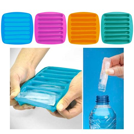 Molded Cargo Area Tray - 2 Ice Maker Stick Tray Water Drink Sport Bottle Tube Silicone Chocolate Mold New