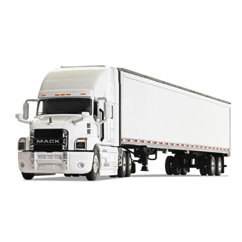 Firstgear Mack Anthem Sleeper Cab White with 53' Trailer 1/64 Diecast Model by First Gear