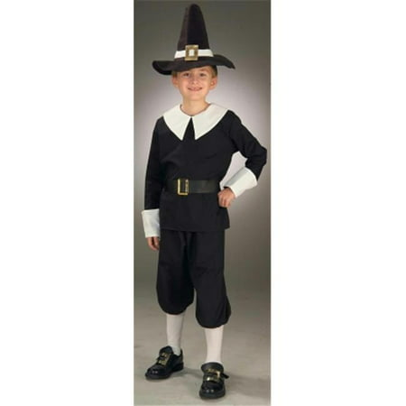 Costumes For All Occasions Fm59578Sm Pilgrim Boy Child Small](Pilgrims Costume)