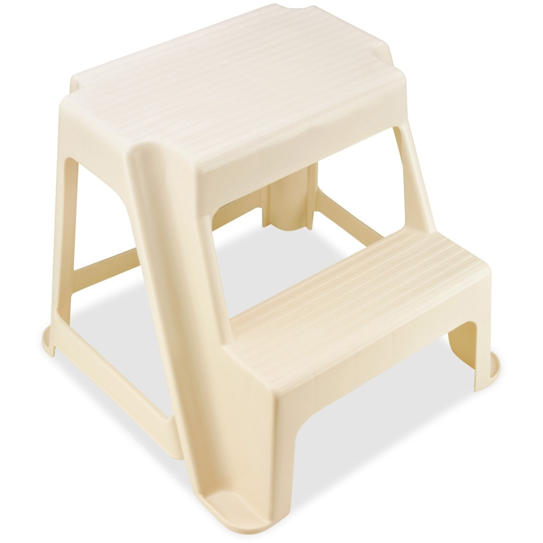 Rubbermaid Two-step Stool - 2 Step - 300 Lb Load Capacity - 18.5  X 18.3  X 16  - Bisque (RCP42221) - Walmart.com  sc 1 st  Walmart & Rubbermaid Two-step Stool - 2 Step - 300 Lb Load Capacity - 18.5 ... islam-shia.org