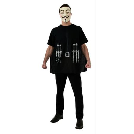 Costumes For All Occasions RU880920 V For Vendetta Alternative