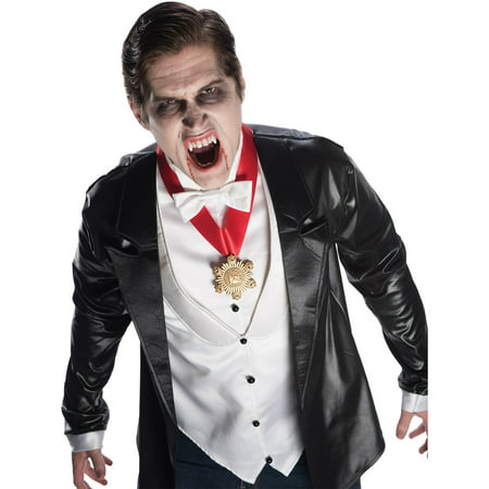 Universal Monsters Premium Dracula Fangs Halloween Costume Accessory - Dracula Halloween Costumes For Men