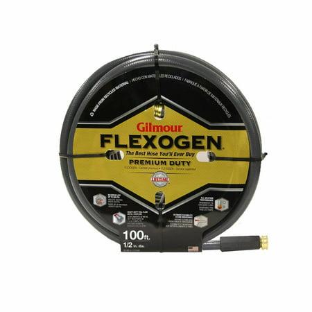 Gilmour 10 Series 8 Ply Flexogen Hose 1/2 Inch x 100 Feet 10-12100, New (3 4 Inch Garden Hose 100 Feet)
