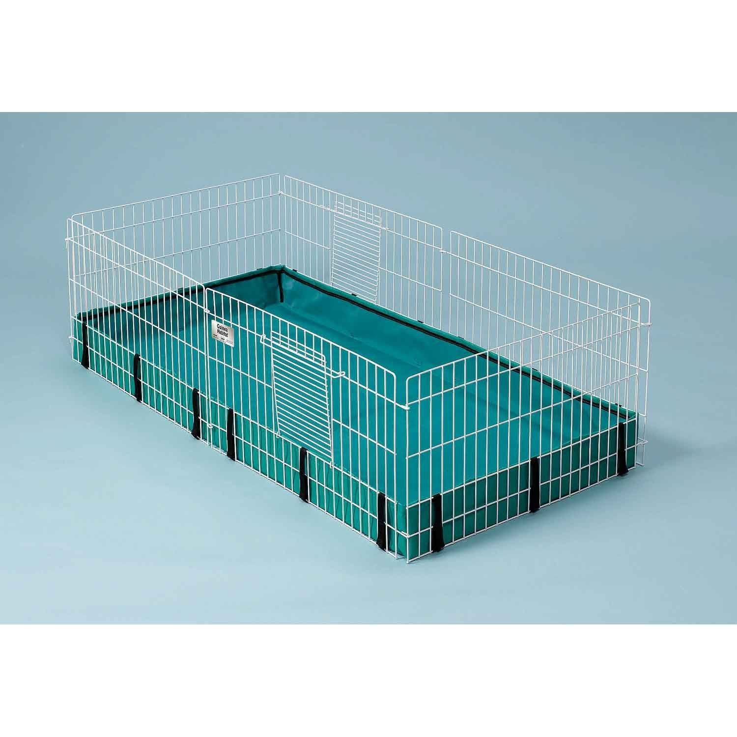 Midwest Guinea Habitat Guinea Pig Cage, Pictures Rat Size Ideal Premium guinea owners Black enthusiasts fit Training 1975 Ramp Reusable Fence Meadow.., By ferret.com