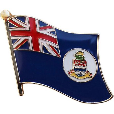 Cayman Islands Lapel Pin (White Disk)