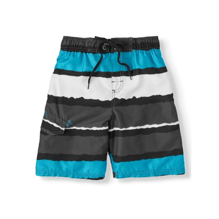 Kanu Surf Boys 8-20 Voodoo Stripe UPF 50+ Swim Trunks