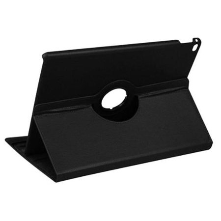 Insten Swivel 360 Degree Rotating Multi View Stand Flip Leather Case Cover Apple iPad Pro 12.9 Inch (2015) - Black