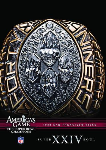 NFL America's Game: San Francisco 49ers Super Bowl XXIV (DVD) by CINEDIGM