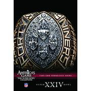 NFL America's Game: 1989 49Ers (Super Bowl Xxiv) ( (DVD)) by