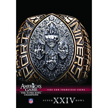 NFL America's Game: San Francisco 49ers Super Bowl XXIV (DVD) - Halloween Tom And Jerry Games
