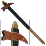 Medieval Practice Viking Wooden War Battle Hammer Waster