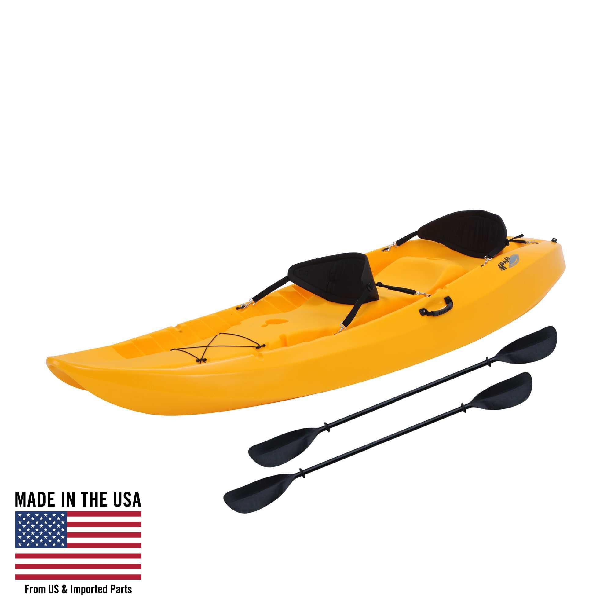 Lifetime Manta 100 Tandem Kayak (Paddles and 2 Backrests Included), 90118