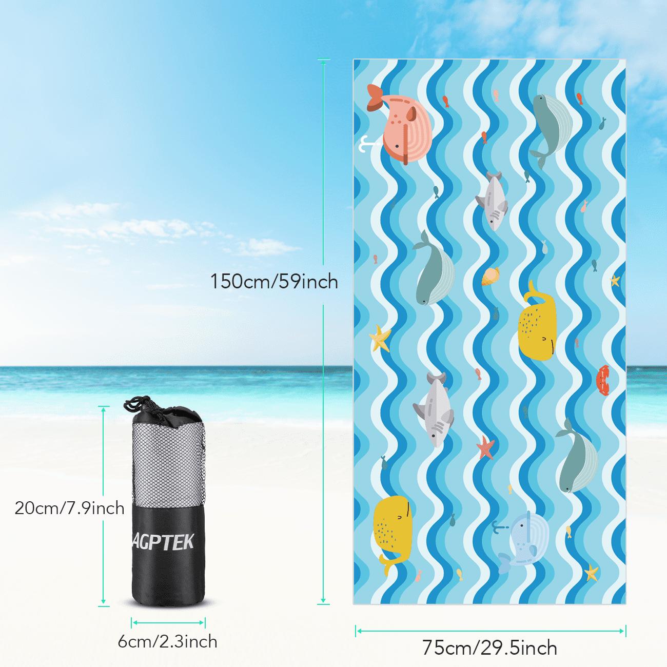 Microfiber Quick Dry Bath Towel Swim Towel Sports Travel Ultra-thin Beach Towel