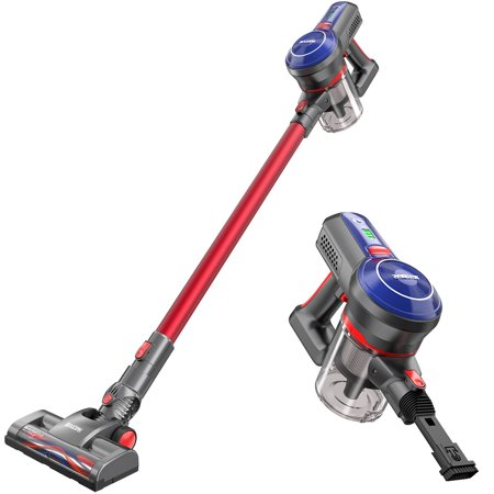Cordless Stick Vacuum, BEAUDENS 5-in-1 Cordless Vacuum Cleaner Handheld on Clearance with 16Kpa Powerful Suction Re-chargeble Li-Battery for Pet Hair Car Carpet Hardwood Floor