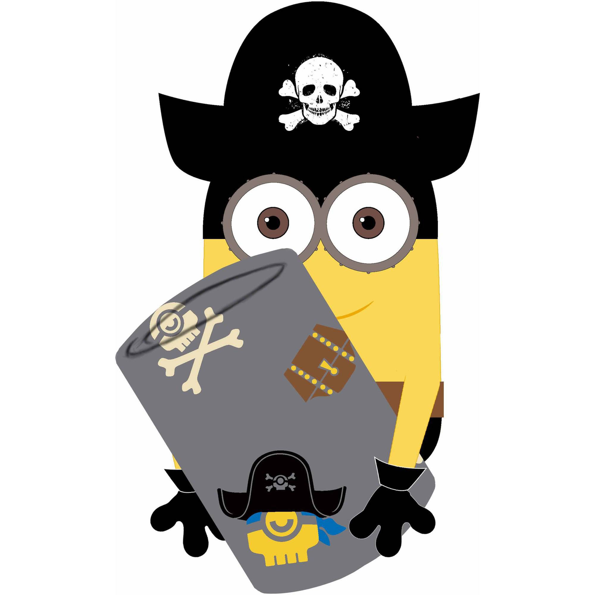 Universal's Despicable Me Minions Pirate Character and Throw Combo
