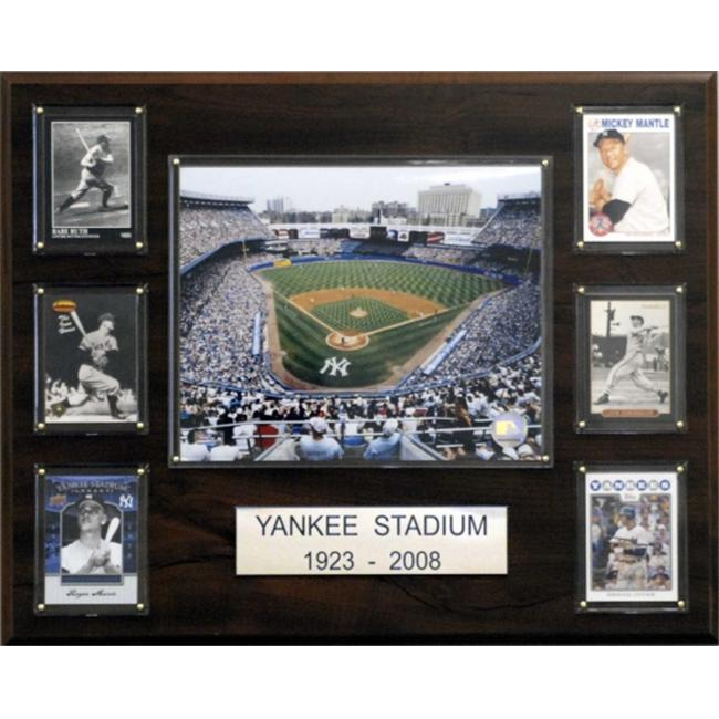 C & I Collectables 1620YANKSTAD MLB Yankee Stadium Stadium Plaque