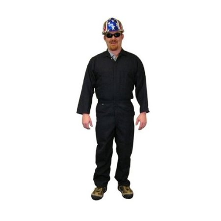 Stanco Safety Products Size 4X Navy Blue Nomex Nomex IIIA Arc Rated Flame Resistant Coveralls With Front Zipper Closure