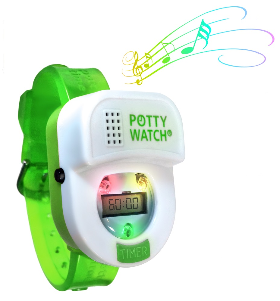 Potty Watch Toilet Training Aid  Green Band