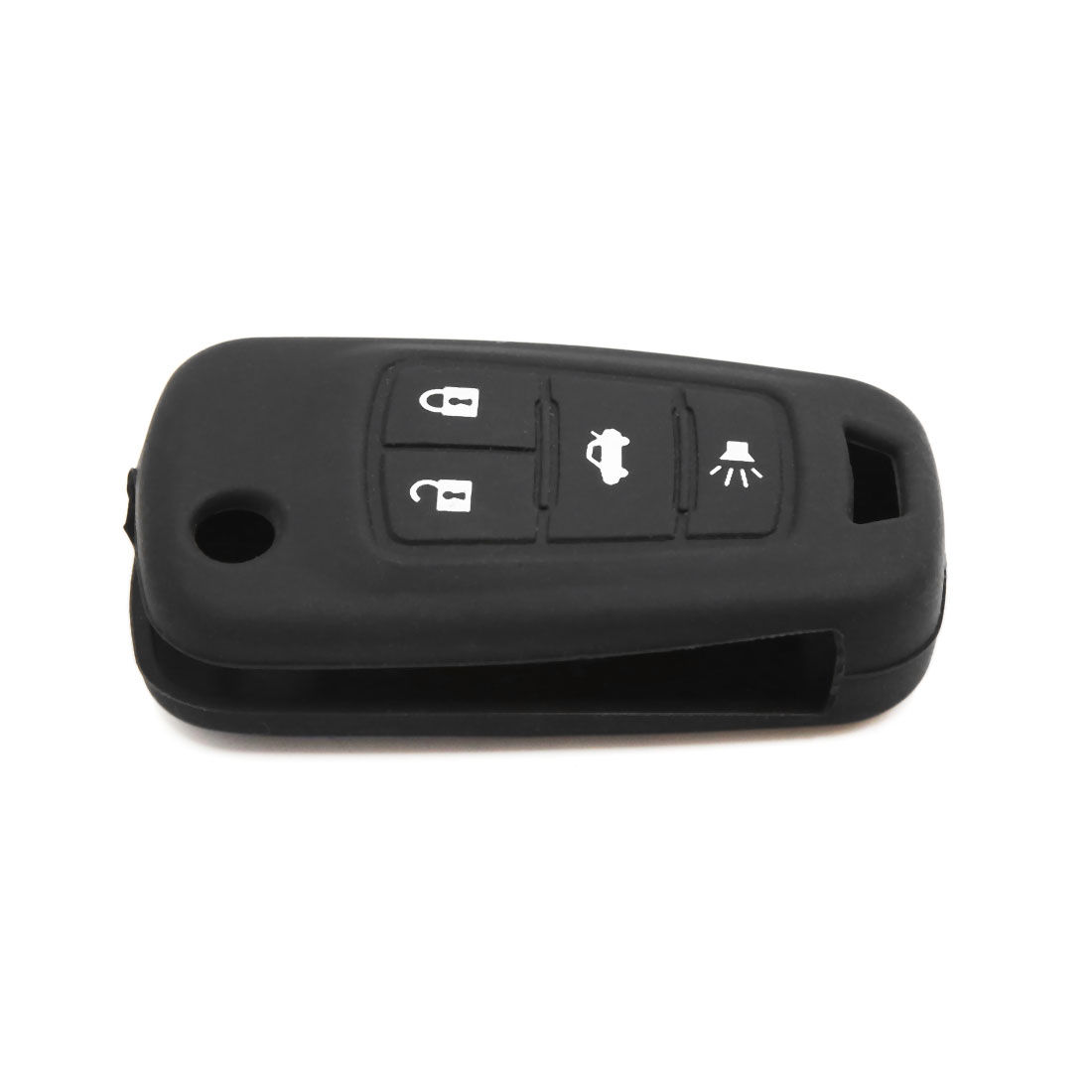 3 Button Rubber Car Remote Key Cover Case Protective Black for Buick Regal - image 2 de 4