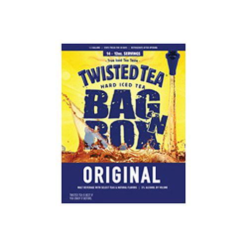Twisted Tea Cardboard Keg