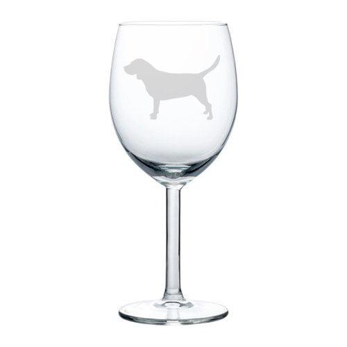 Wine Glass Goblet Beagle 10 Oz Walmart Com Walmart Com