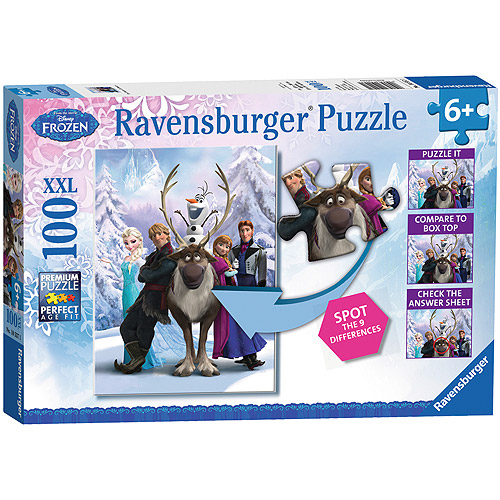 "Disney Frozen ""The Frozen Difference"" Puzzle, 100 Pieces"