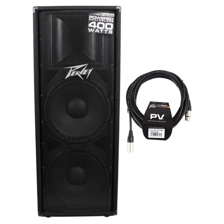 Peavey PV215D PV 215D Powered Dual 15