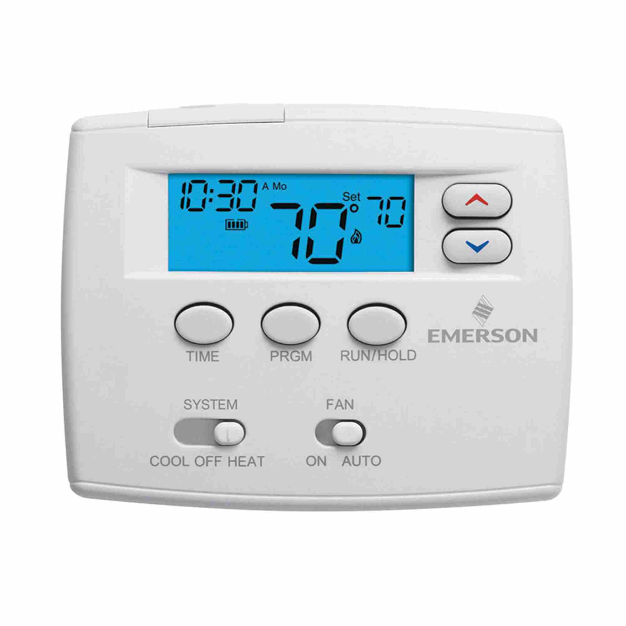 White Rodgers 1F80-0261 Programmable Thermostat GE HP 1H 1C