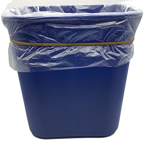 """Garbage Trash Can Rubber Bands Blue Large Size 17/"""" Inch Rubberbands For Tote"""