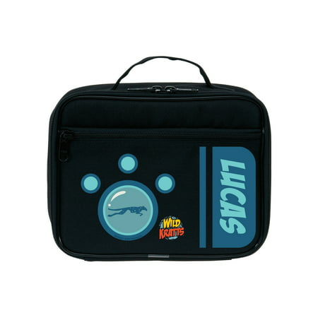 Personalized Wild Kratts Blue Creature Power Kids Lunch Bag