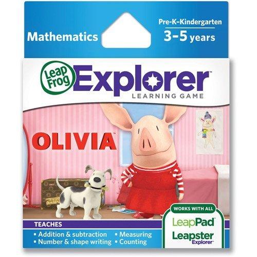 Explorer Learning Game, Olivia, LeapFrog Leapster Learnin...