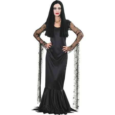 Family Of 3 Halloween Costumes 2019 (Adams Family Morticia Costume Size:)