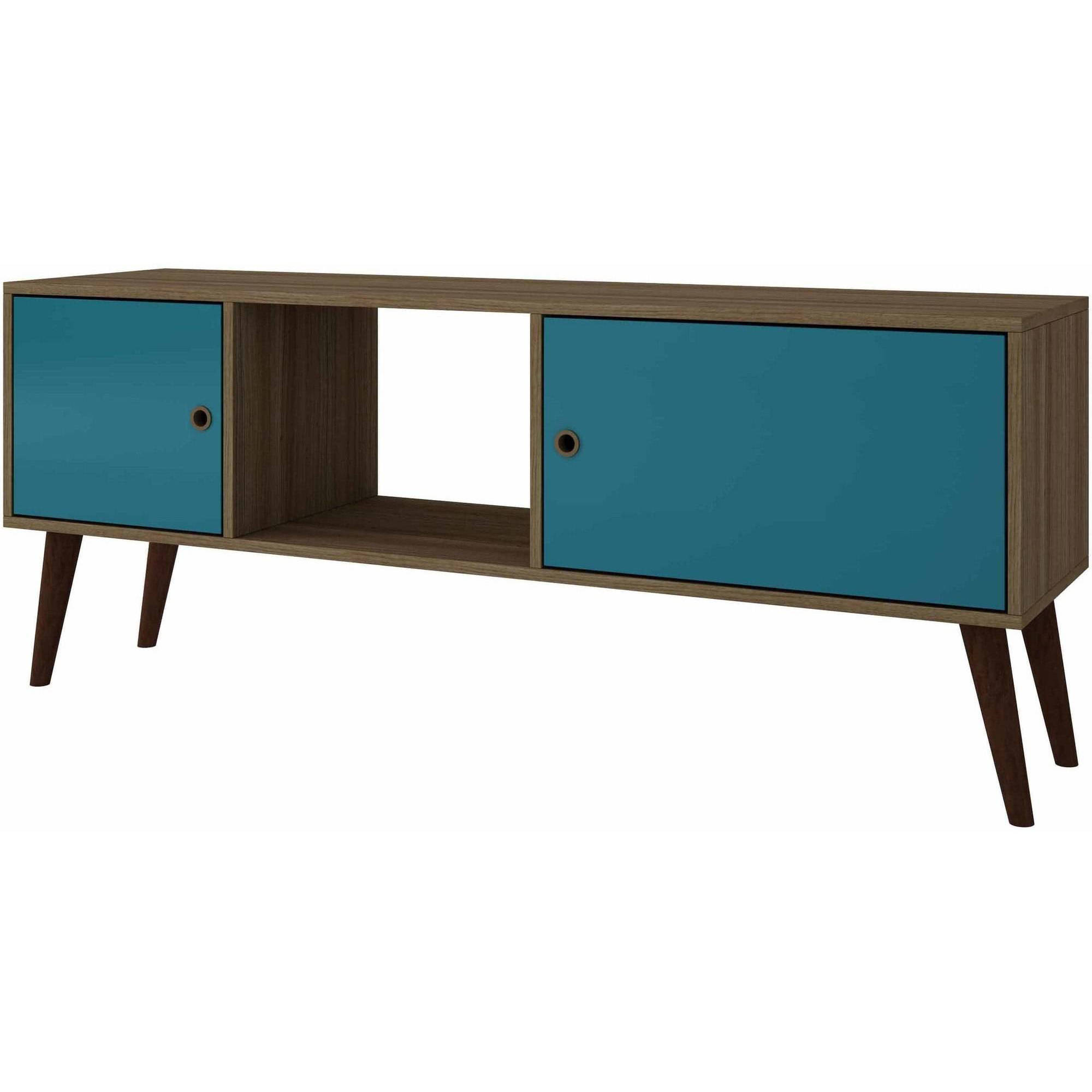 Image of Manhattan Comfort Accentuations Varberg Splayed-Leg TV Stand