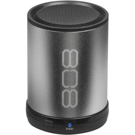 808 CANZ Bluetooth Wireless Speaker, Silver