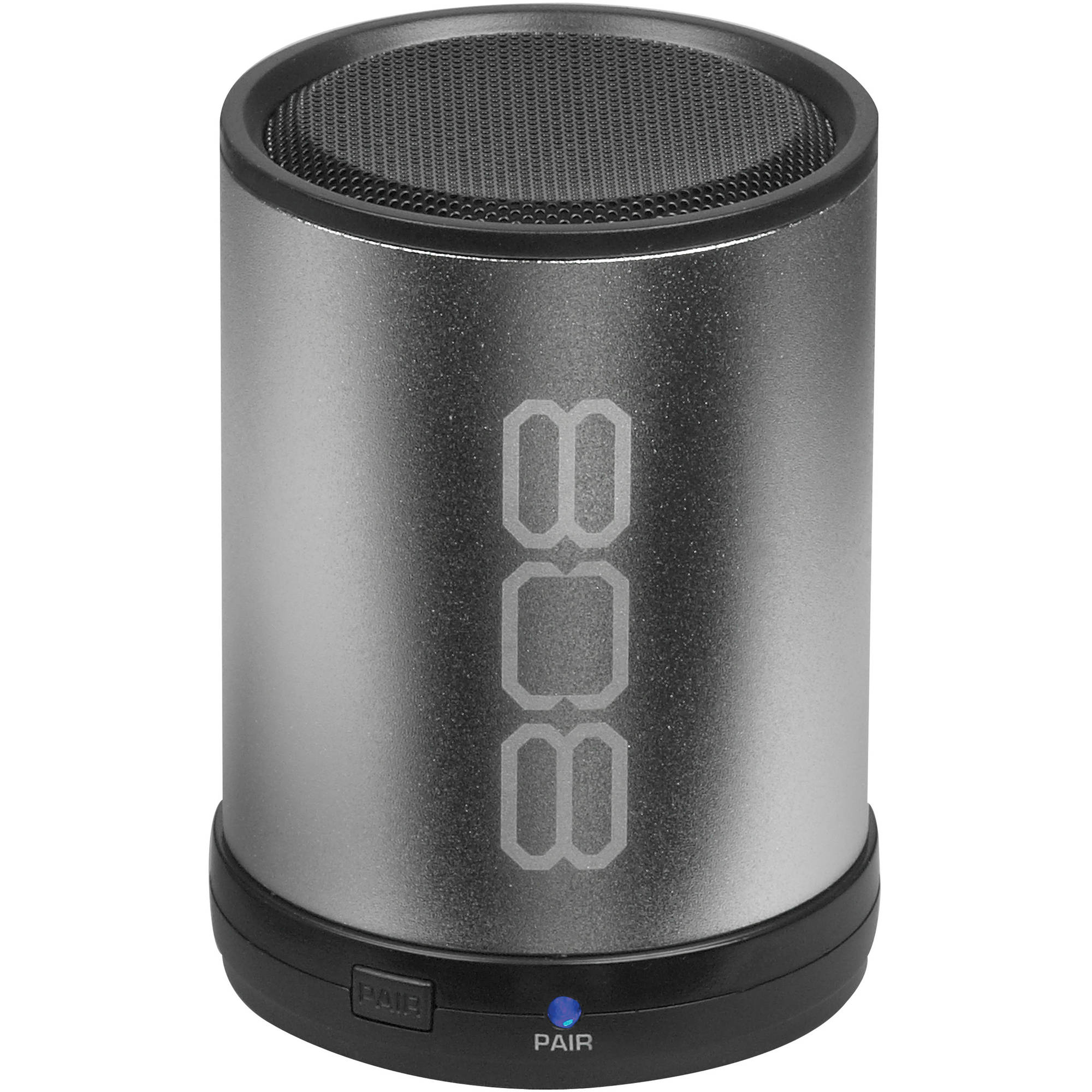 808 CANZ Bluetooth Wireless Speaker, Silver