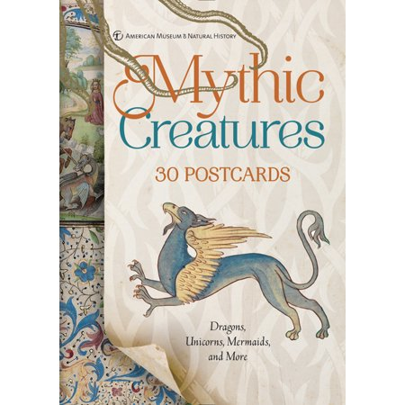 Mythic Creatures: 30 Postcards : Dragons, Unicorns, Mermaids, and More](Mermaid Creatures)