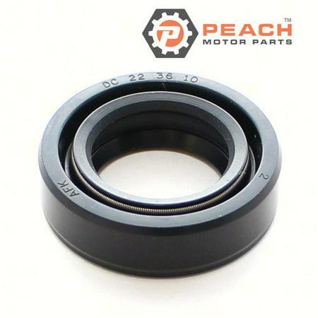 Propeller Shaft Bushing (Peach Motor Parts PM-26-16130-2  PM-26-16130-2 Seal, Oil (Propeller Shaft); Replaces Mercury Marine®: 26-16130 2, 26-161302, Nissan Tohatsu®: 334-60223-0,)