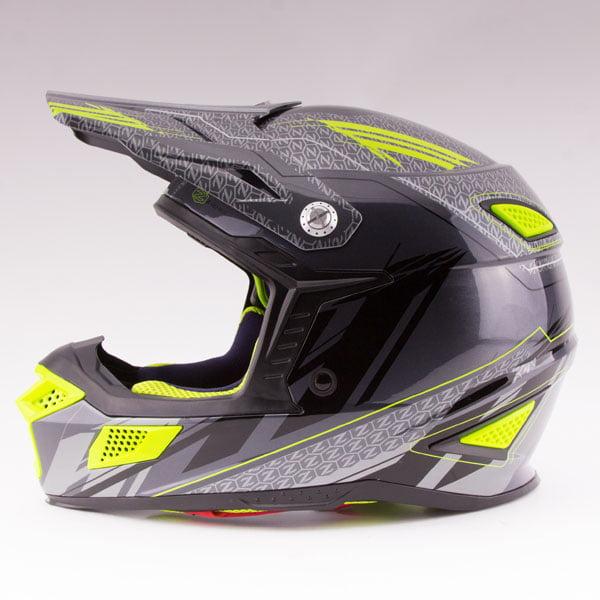 Zox Z-MX10 Concept Offroad Helmet Dark Silver
