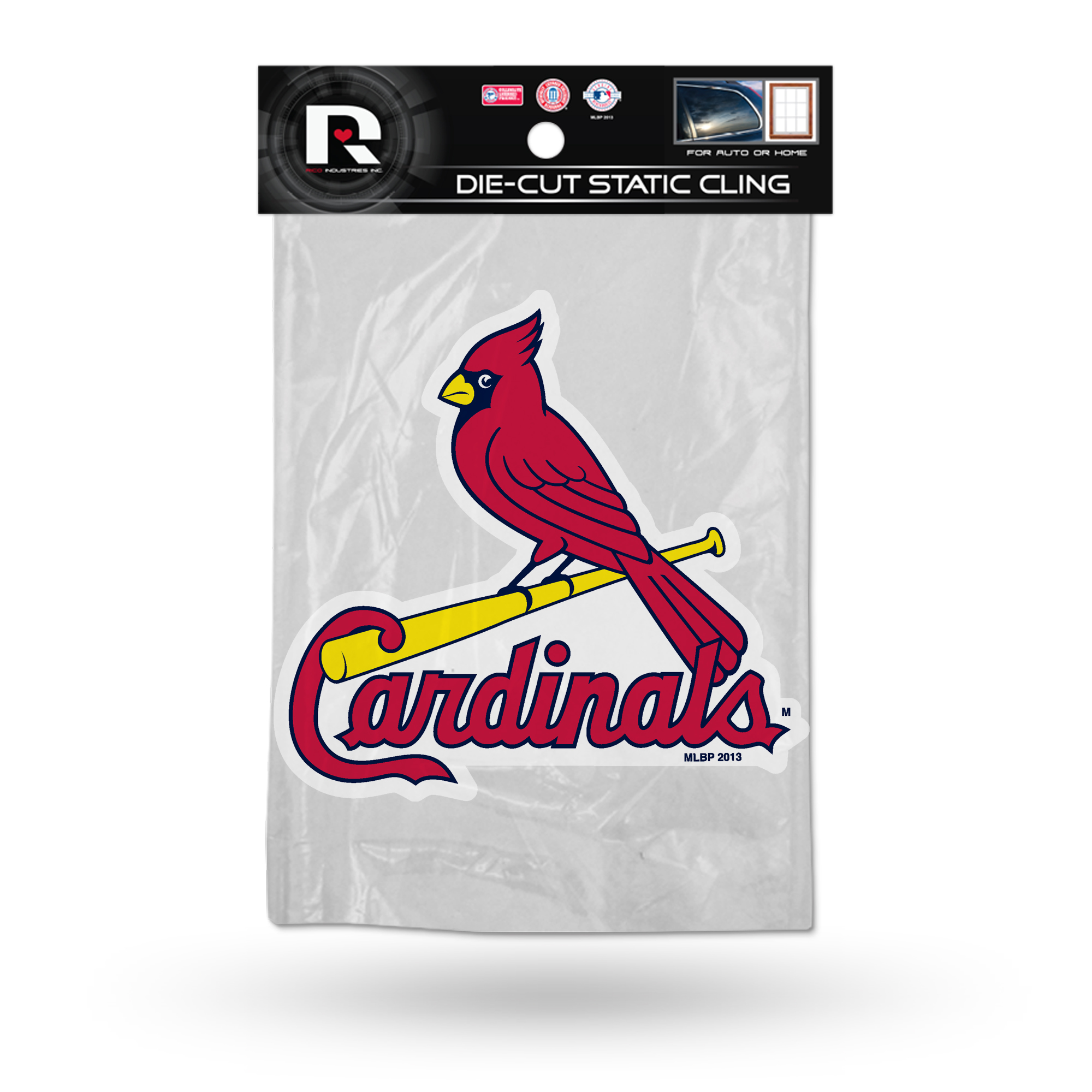 St. Louis Cardinals Official MLB 5 inch  Car Window Cling Decal by Rico Industries